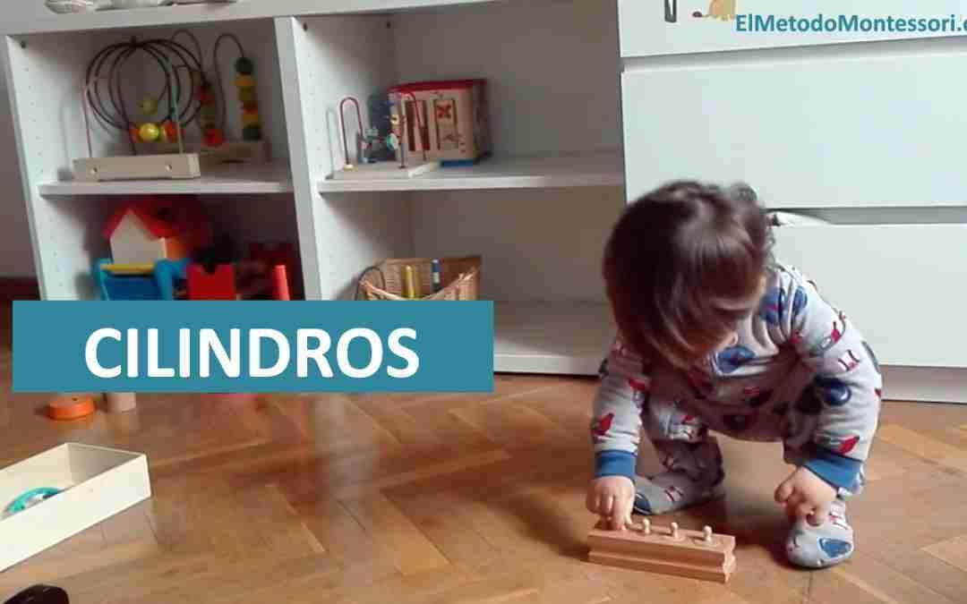 Usando los Cilindros Montessori