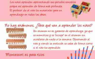 7 Mitos del Método Montessori