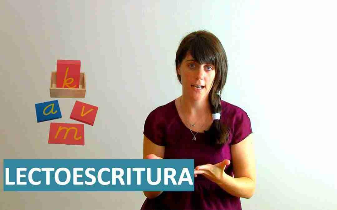 Inicio a la Lectoescritura con el Método Montessori