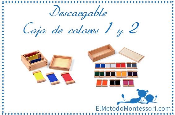 Descargable caja de colores 1 y 2