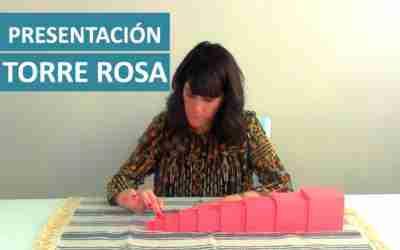Cómo presentar la Torre Rosa Montessori