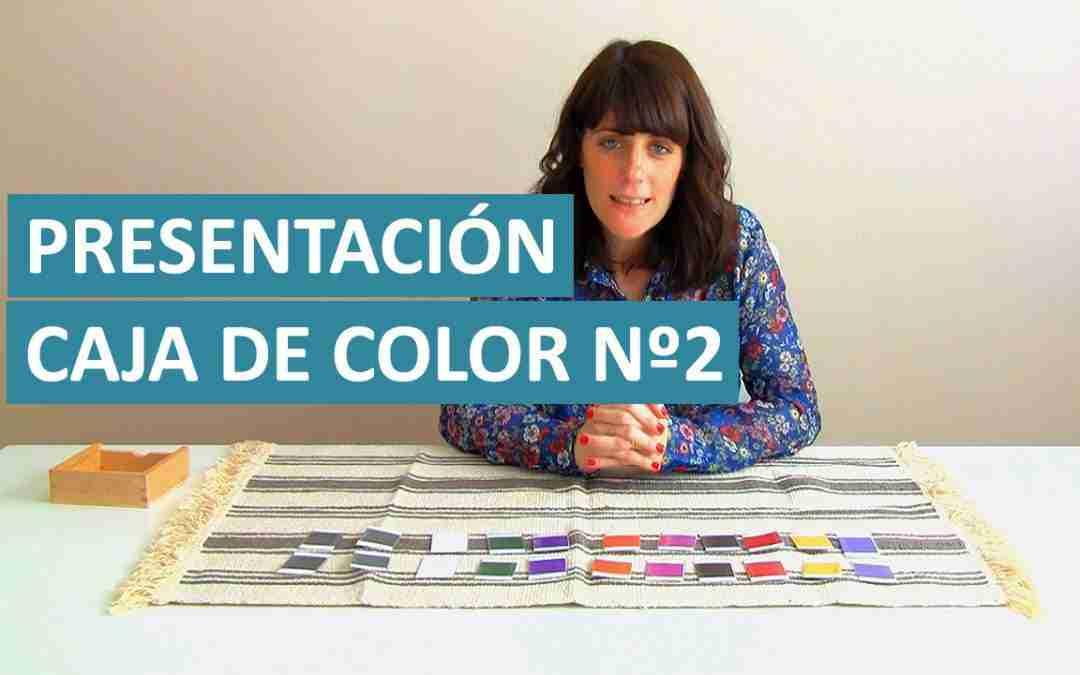 Aprender Los Colores – Vídeo Presentación Caja de Color Nº2 Montessori