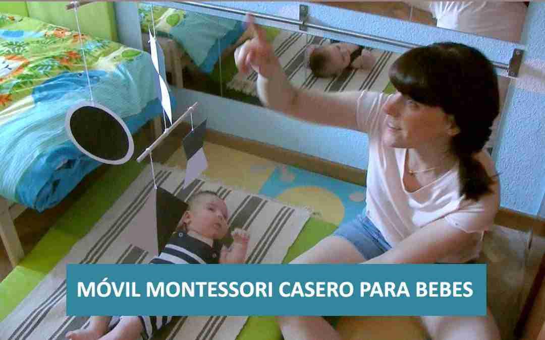 Crea un Móvil Montessori Casero para tu Bebé