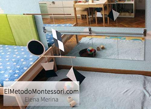 Espejo en Habitación Montessori