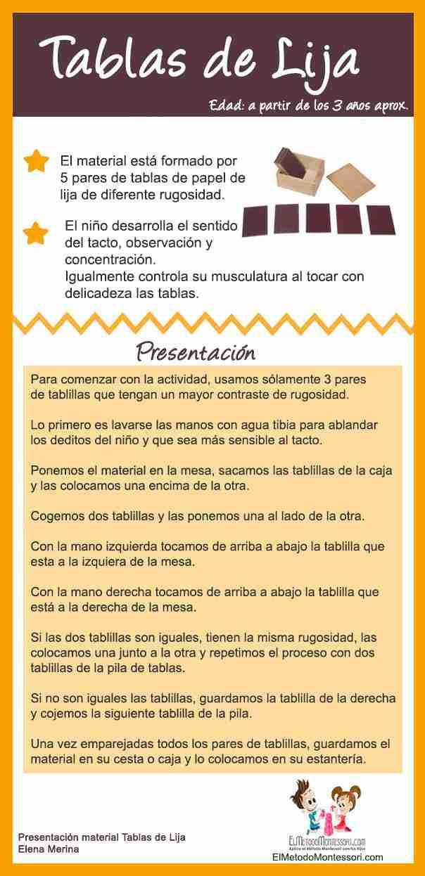Sentido del Tacto Para Niños – Actividad Montessori | El Metodo ...