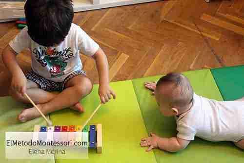 Musica en Montessori