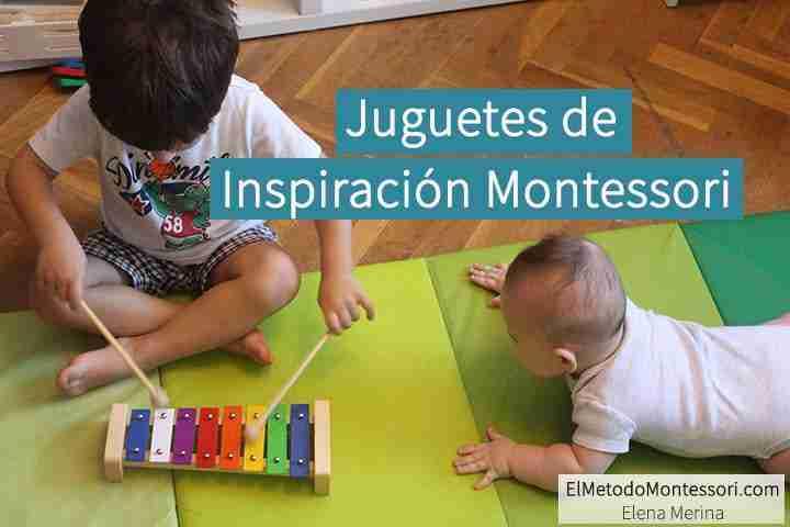 Juguetes de inspiración Montessori
