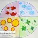 Calendario Montessori