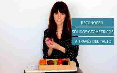 Reconocer Sólidos Geométricos a través del tacto