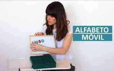 Alfabeto Móvil Montessori casero
