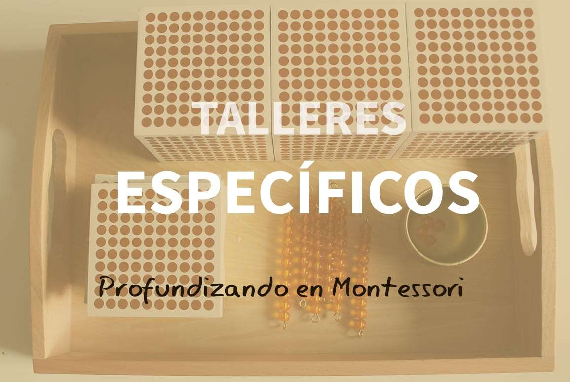 Taller Montessori en España ( Mateméticas y Lecto Escritura )