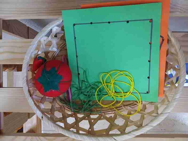 zona de arte Montessori