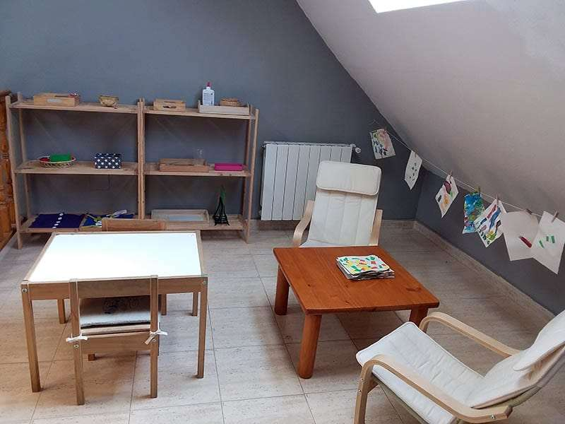 Espacio Montessori en casa