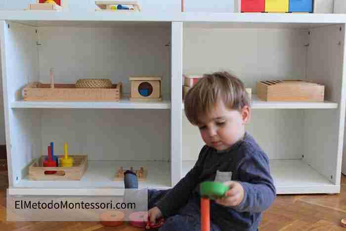 Montessori para niños de 2 años
