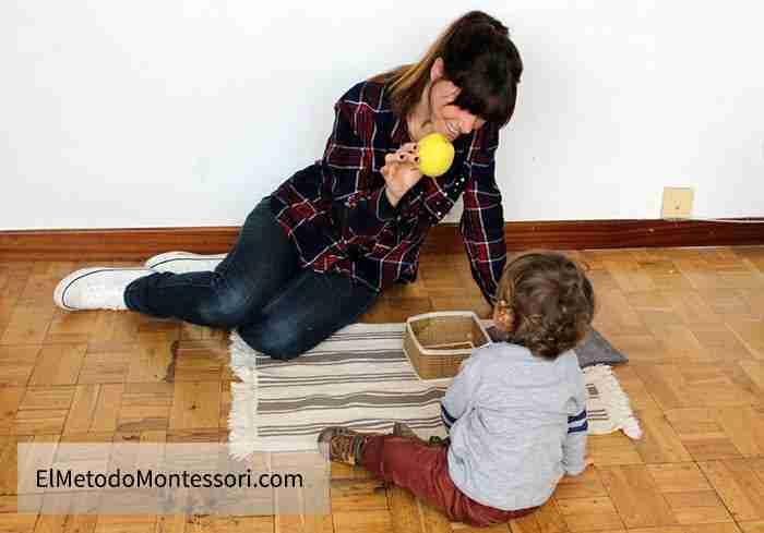 Montessori para niños de 1 año y 2 años