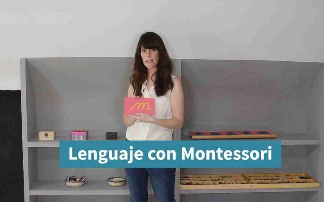 Cómo enseñar a leer y escribir en casa con Montessori