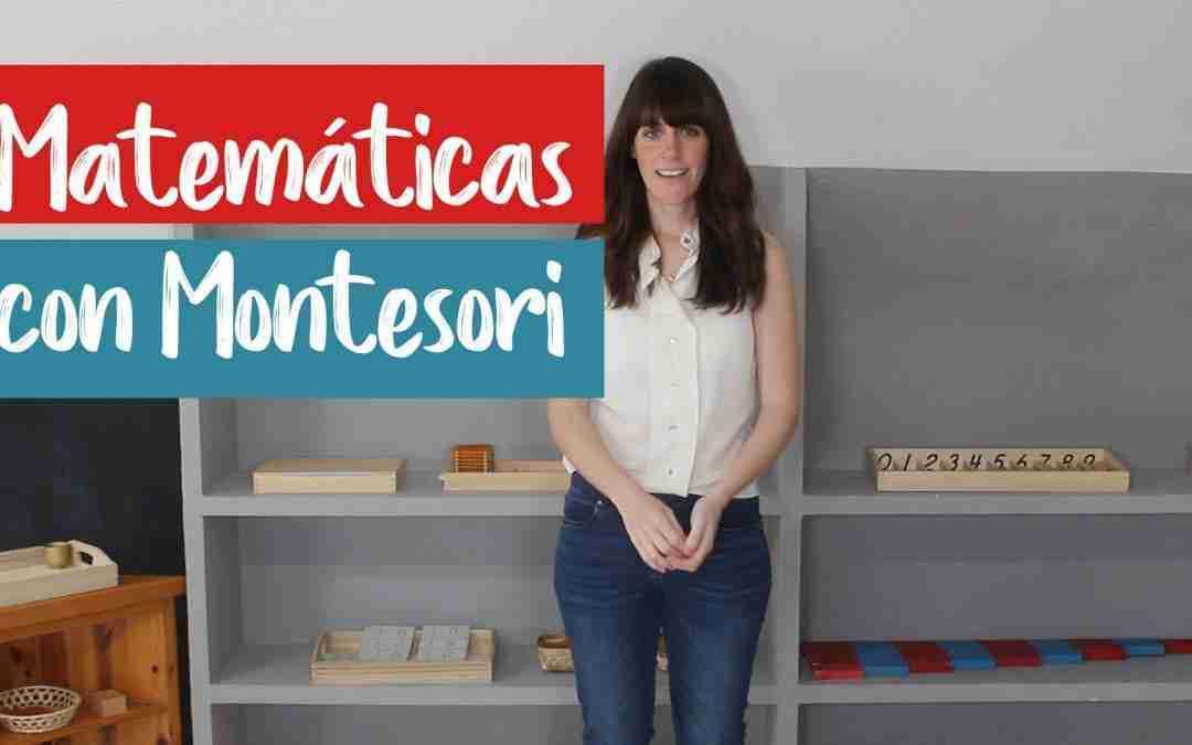 Matemáticas con Montessori
