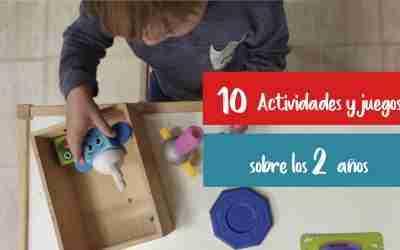 Actividades y juguetes para niños de 2 años
